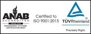 ISO 9001:2015 cert
